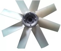 Aluminum Replacement Industrial Exhaust Fan Blades / Air