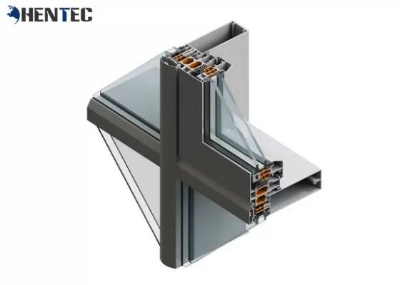 CE 6063 / 6061 Standard Construction Aluminum Profile Anodizing / Electrophoresis