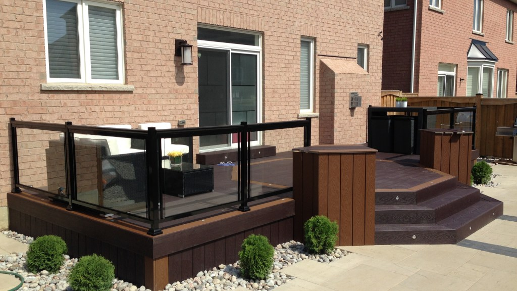 Glass Railings for Deck