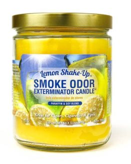 Smoke Odor 13oz Candle Lemon Shake-Up