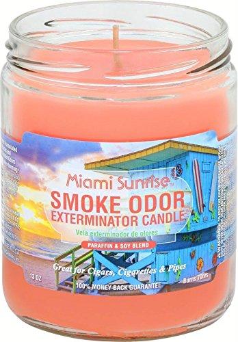 Smoke Odor 13oz Candle Miami Sunrise