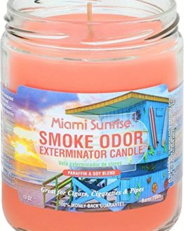 Smoke Odor 13oz Candle Miami Sunrise