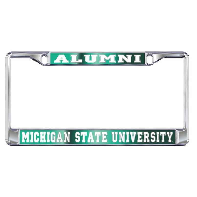 Michigan State University Alumni License Plate Frame   Framesite.co