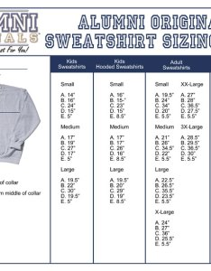 Sweatshirt size chart also rh alumnioriginals