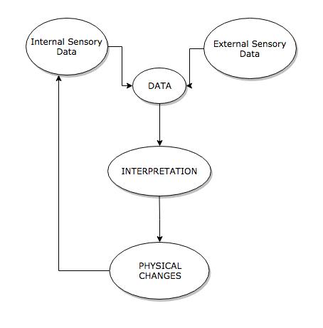 Diagram of The DIP Loop Model of Anxiety