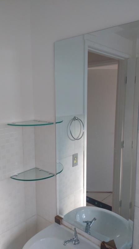 Espelhos Grandes com Moldura  ALUWORLD SACADAS Boxes de Vidro