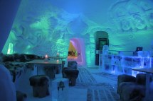 Inside Igloo Hotel