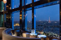 Hotel with View of Eiffel Tower Paris