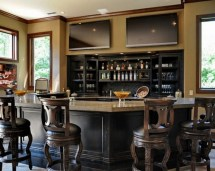 Home Sports Bar Design Ideas