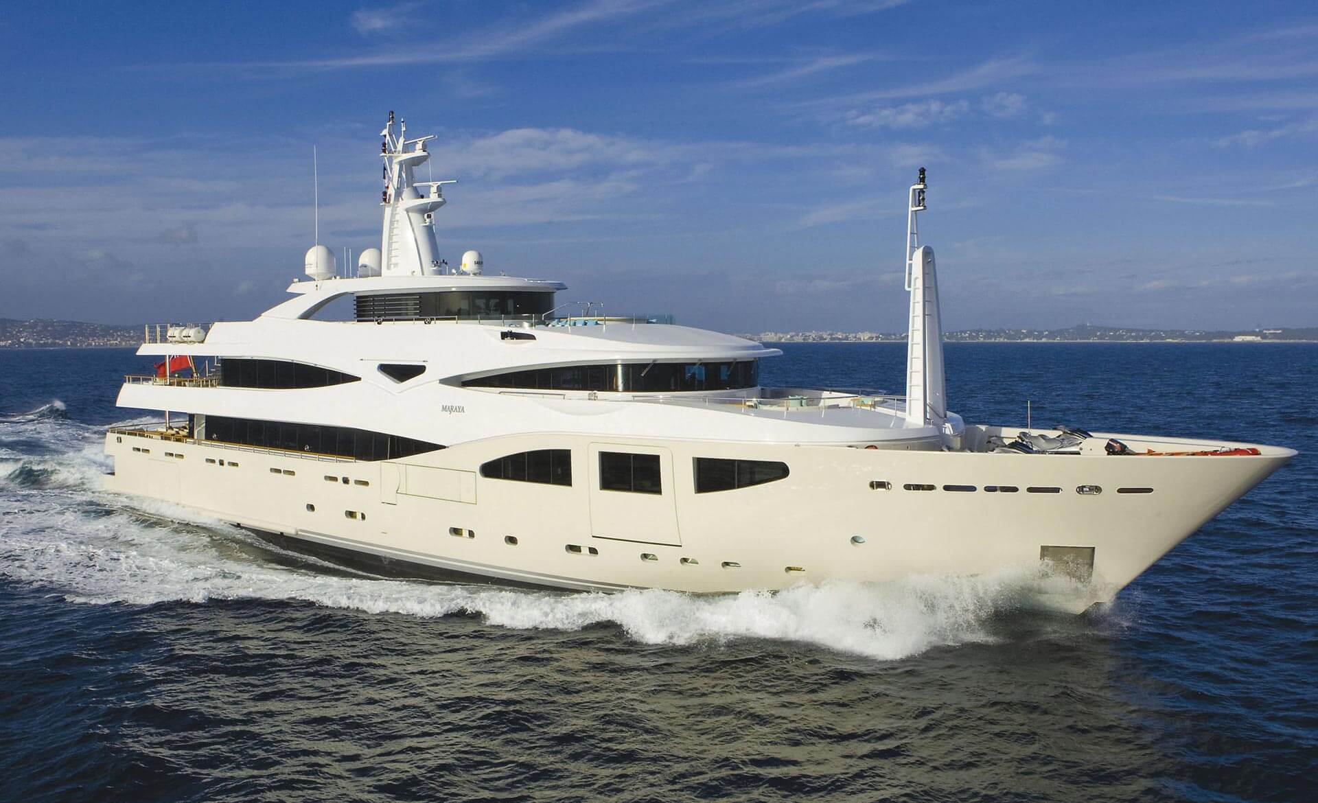 10 Nicest Celebrity Yachts And The Owners