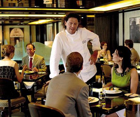 Marco Pierre White Room Restaurant, Ventura