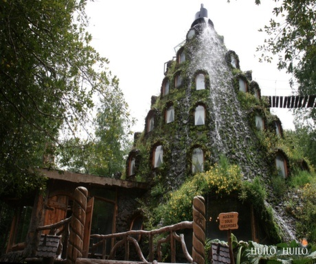 Magic Mountain Hotel, Huilo Huilo Reserve, Chile