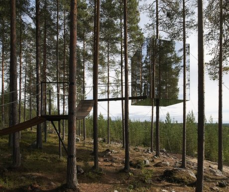 Tree Hotel, Harads, Sweden