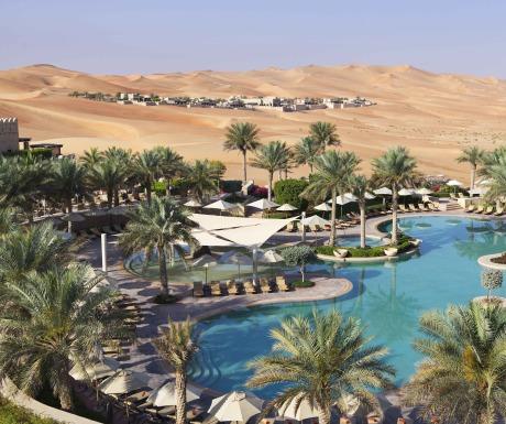 Qasr Al Sarab pool
