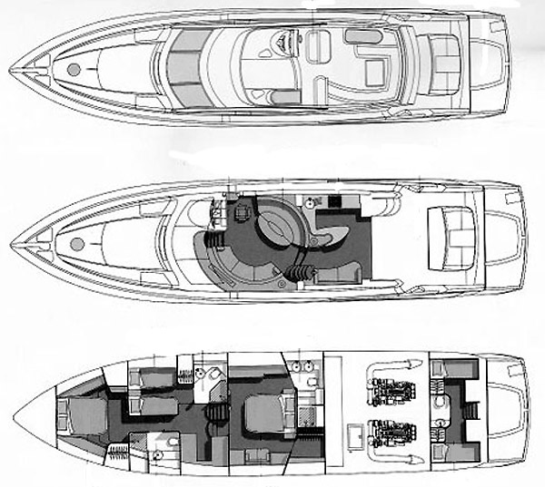 Motor Boat Rental With A Luxury Yachting
