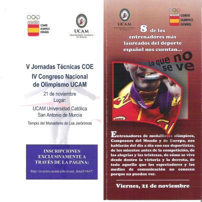 V Jornadas Técnicas COE UCAM Murcia
