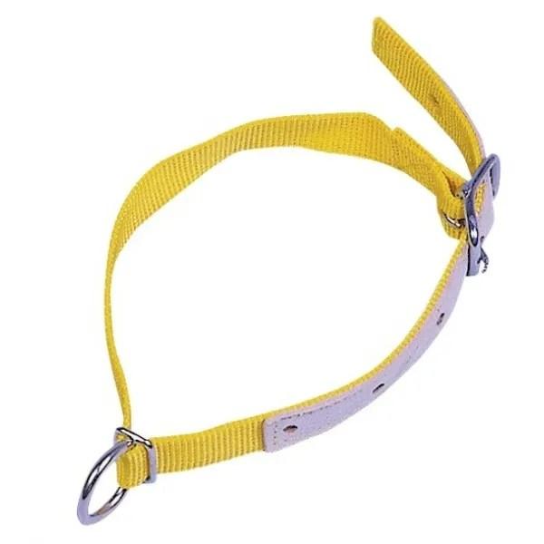 Lamba ja kitse kaelarihm nailonist kollane