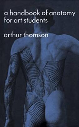 Capa del libro a handbook of anatomy for art students