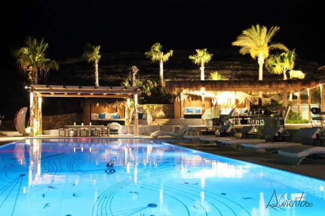 piscina de hotel ios greece