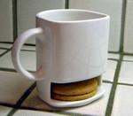 Copa y Cookies - La celebración de una galleta, la Jarra