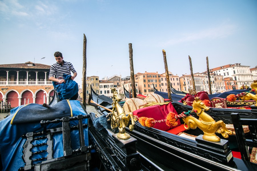venice gondolier day gondola master story reportage photography airbaltic outlook inflight magazine