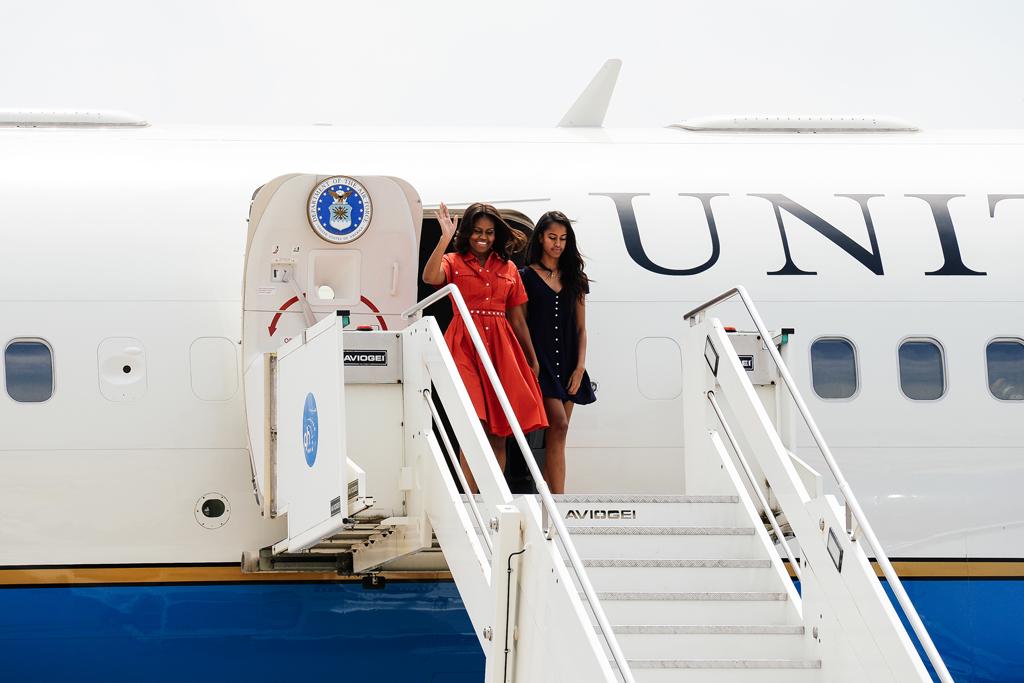 michelle obama venezia