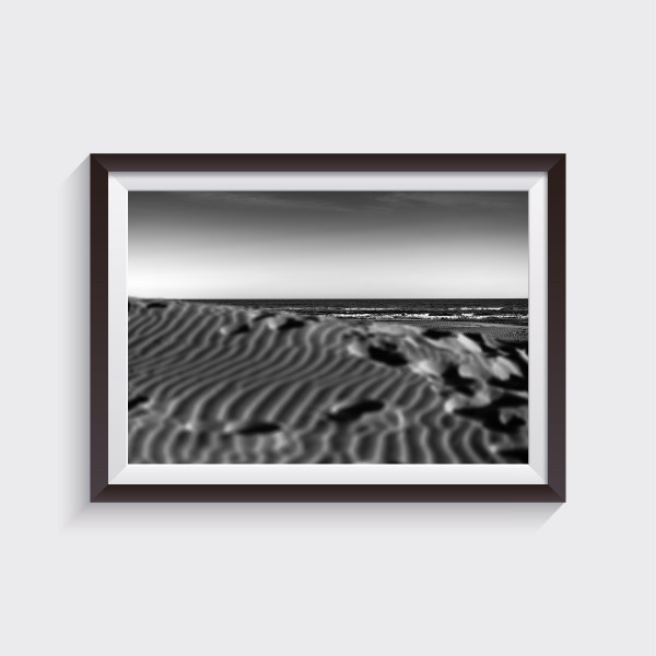 jesolo venice seascape fine art prints shop black and white