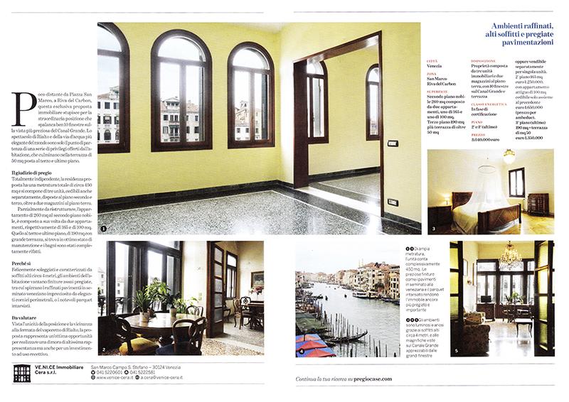 pregio corriere della sera pubblicazione alvise busetto fotografo interni venezia