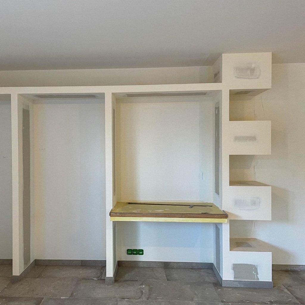 ALVITPLAQUISTE-Chantier-Renovation-complete-Mas-Chabry-Placo-Joints-Jointeur-3