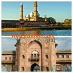 ताज उल मस्जिद भोपाल एशिया कि सबसे बडी मस्जिद के सुंदर दृश्य