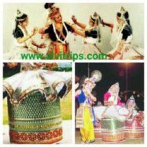 मणिपुरी नृत्य के सुंदर दृश्य मणिपुर का इतिहास