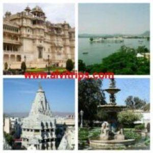 उदयपुर दर्शनीय स्थल के सुंदर दृश्य