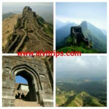 राजगढ़ का किला के सुंदर दृश्य
