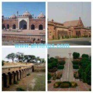 अलीगढ़ के दर्शनीय स्थल के सुंदर दृश्य