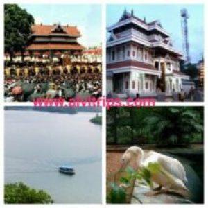 त्रिशूर पर्यटन स्थलों के सुंदर दृश्य