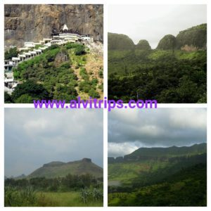 नासिक जिले के दर्शनीय स्थलों के सुंदर दृश्य