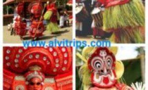 थेय्यम नृत्य फेस्टिवल की रोचक जानकारी हिन्दी में theyyam festival