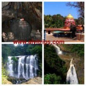 दांदेली पर्यटन के सुंदर दृश्य