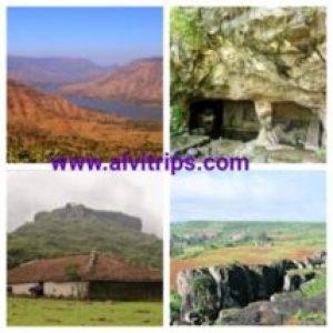 पंचगनी पर्यटन स्थलों के सुंदर दृश्य