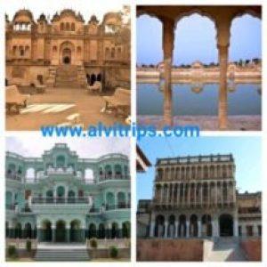 चूरू जिले के पर्यटन स्थलों के सुंदर दृश्य