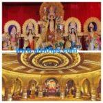 दुर्गा पूजा पर्व के सुंदर दृश्य