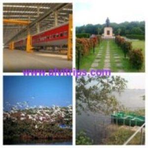 रायबरेली आकर्षक स्थलों के सुंदर दृश्य