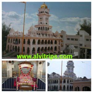 गुरूद्वारा गुरू का महल के सुंदर दृश्य