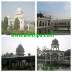 गुरूद्वारा मंजी साहिब आलमगीर लुधियाना के सुंदर दृश्य