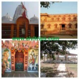 धनोप माता मंदिर के सुंदर दृश्य