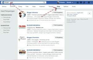 Cara menemukan Group Facebook yang relevan untuk meningkatkan traffic blog