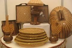 Kerajinan bambu khas cianjur