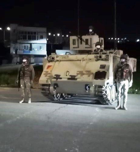 , بالصور : الجيش يعيد انتشاره في شوارع العاصمة عمان