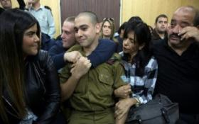 إطلاق سراح الجندي الاسرائيلي قاتل الشهيد الشريف