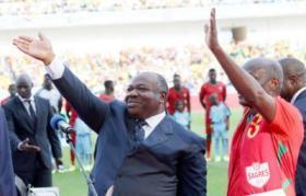 الرئيس الغابوني يفتتح كأس أمم افريقيا 2017